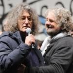 GRILLO INVITA CASALEGGIO SUL PALCO, E' UNA PERSONA PERBENE